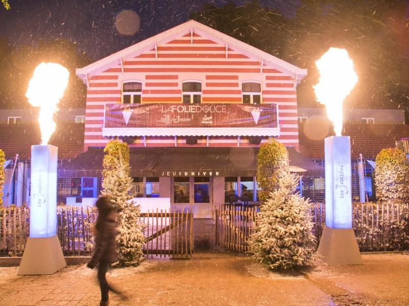 Les Belges font du ski, jeux d'hiver, soirée à thème, Global Event production