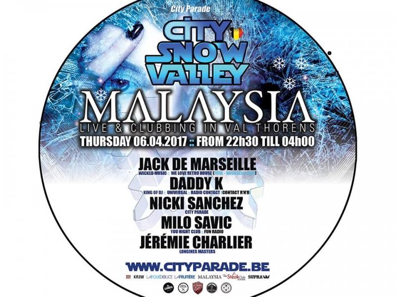 CITY SNOW VALLEY MALAYSIA FOLIE DOUCE VAL THORENS CITY PARADE