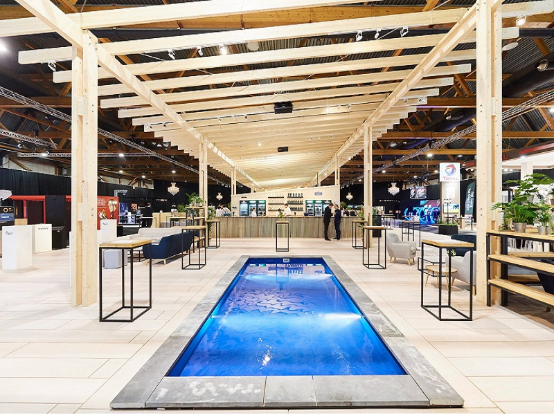 Terrasse du salon 2018 auto salon brussels motors show terrasse O2 simply better global event production palais 1 palais 12 Porsche lamborghini