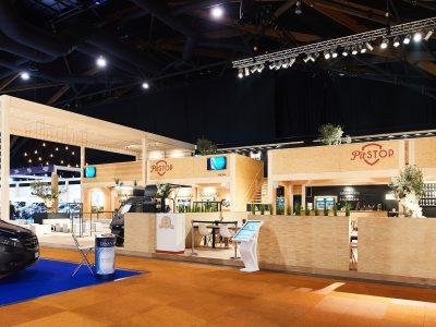 Global Event Production Pitstop Brussels Motor Show 2019 Salon de l'auto Simply Better Sound and Light Restaurant Terrasse du Salon